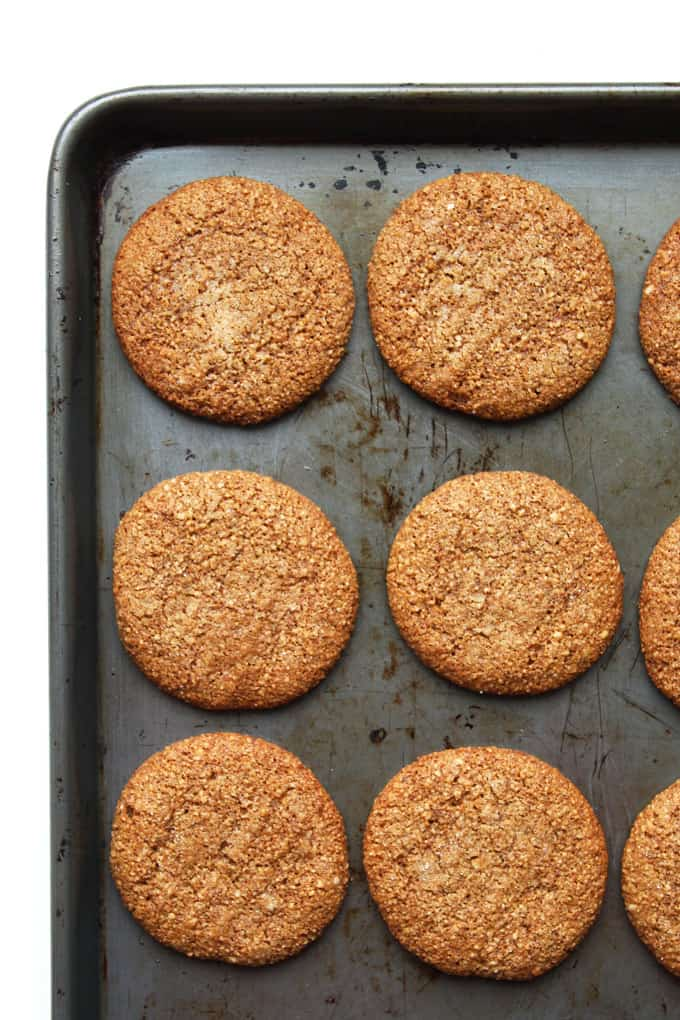 Chewy Cinnamon-Molasses Cookies
