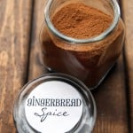 Gingerbread Spice in a Jar