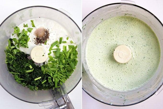 Green Goddess Winter Salad