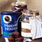 Gingerbread Brownie Bites + Brownie Mix In A Jar
