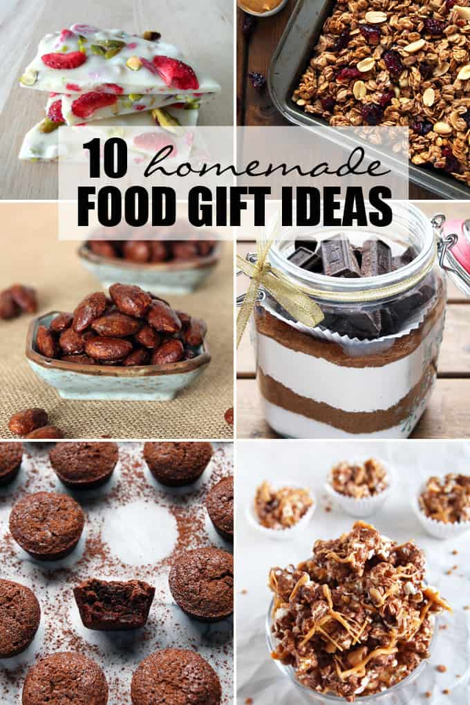 10 Homemade Food Gift Ideas – LeelaLicious
