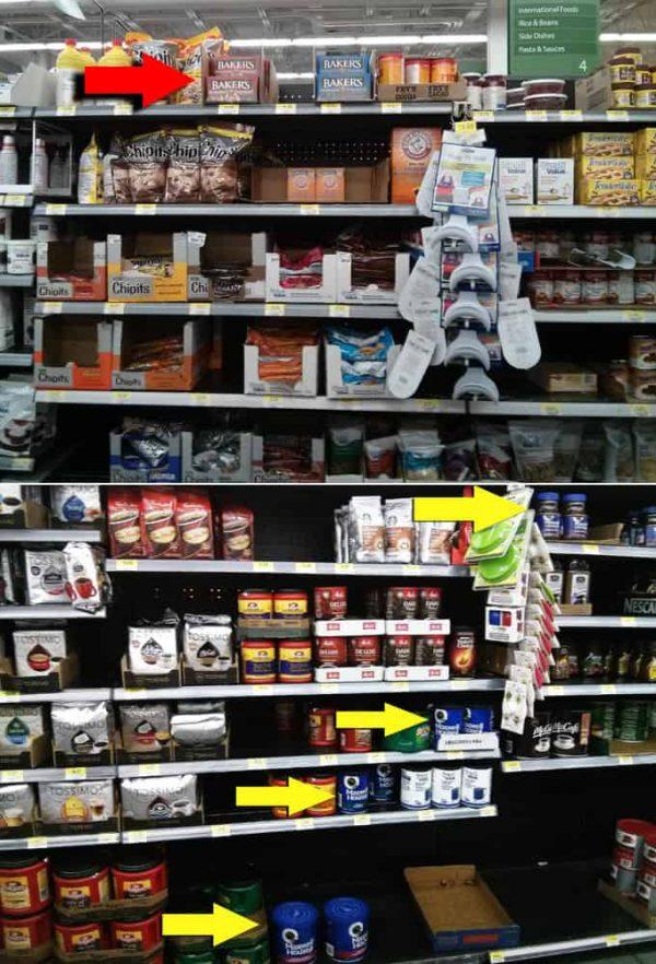 Baking Shelf at Walmart