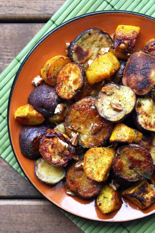 Sweet Spicy Potato and Squash
