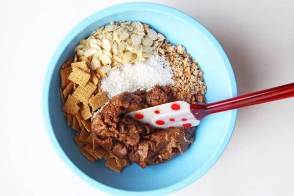 Stirring in Dry Ingredients
