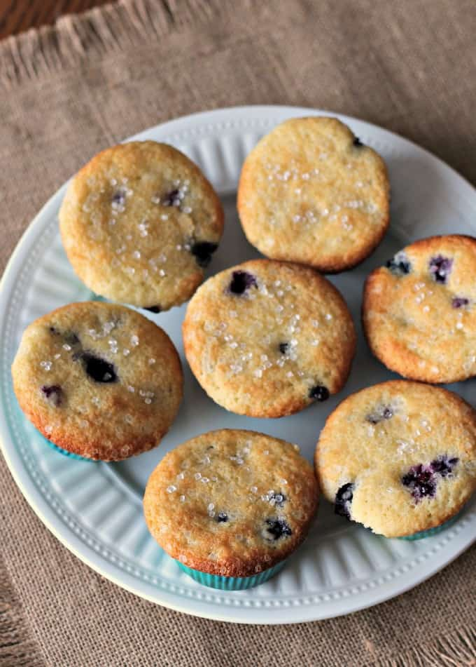 Buttermilk Blueberry Muffins