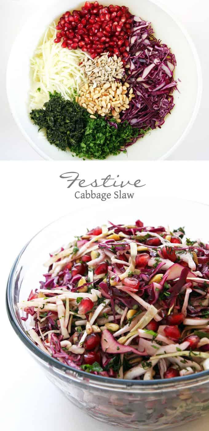 Festive Cabbage Slaw