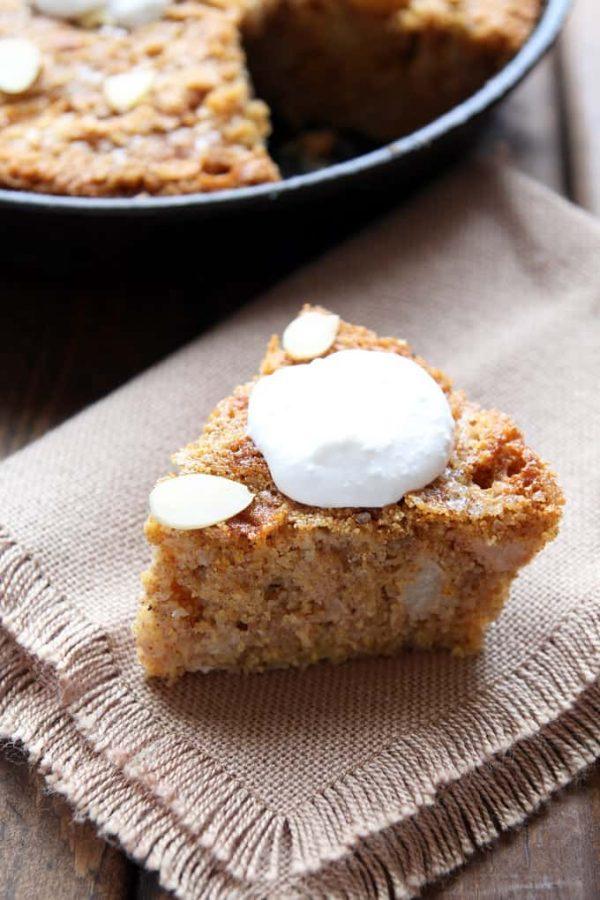 Gluten-Free Apple Cake Slice