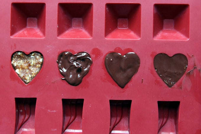 Making Homemade Valentines Chocolates