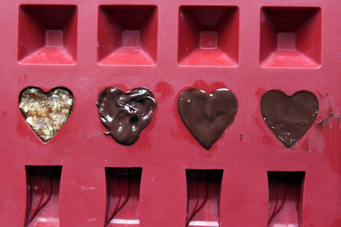 Making Homemade Valentines Chocolates
