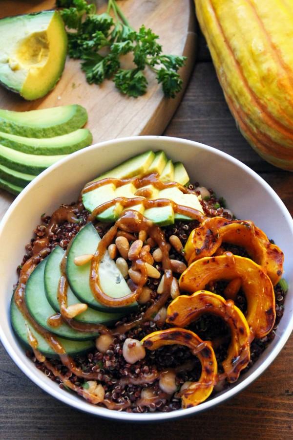Quinoa Bowl with Delicata Squash