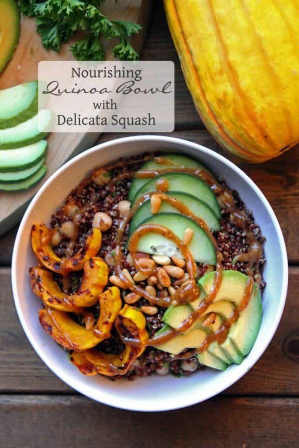 Quinoa with Avocado and Squash