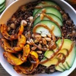 Nourishing Quinoa Bowl with Delicata Squash