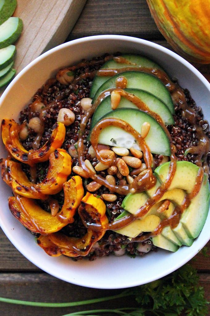 Nourishing Quinoa Bowl with Delicata Squash