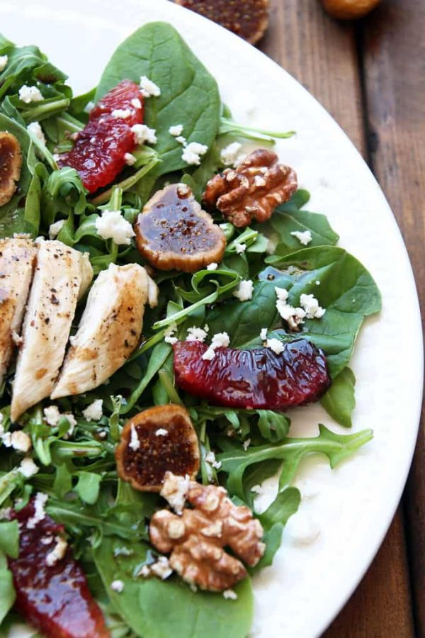 Tuscan Chicken Salad Walnuts Feta Chicken Salad
