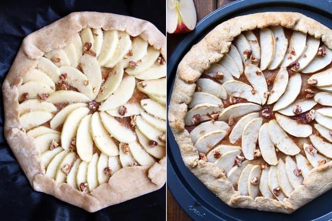 Rustic Apple Maple Galette