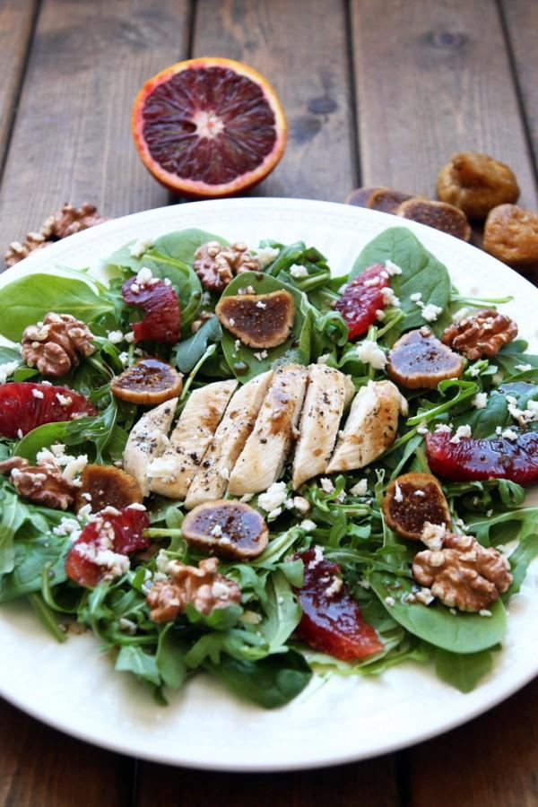 Tuscan Chicken Salad Blood Orange Beautiful Figs