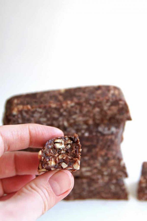 Paleo Chocolate Bars Bite