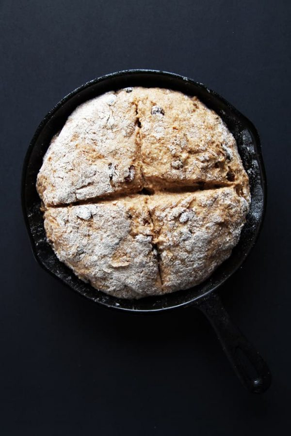 Irish Soda Bread Before Oven