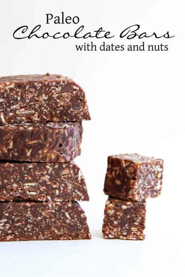 Chocolate, Date, and Nut Bars