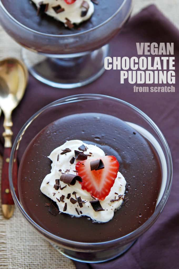 Dairy Free Chocolate Pudding