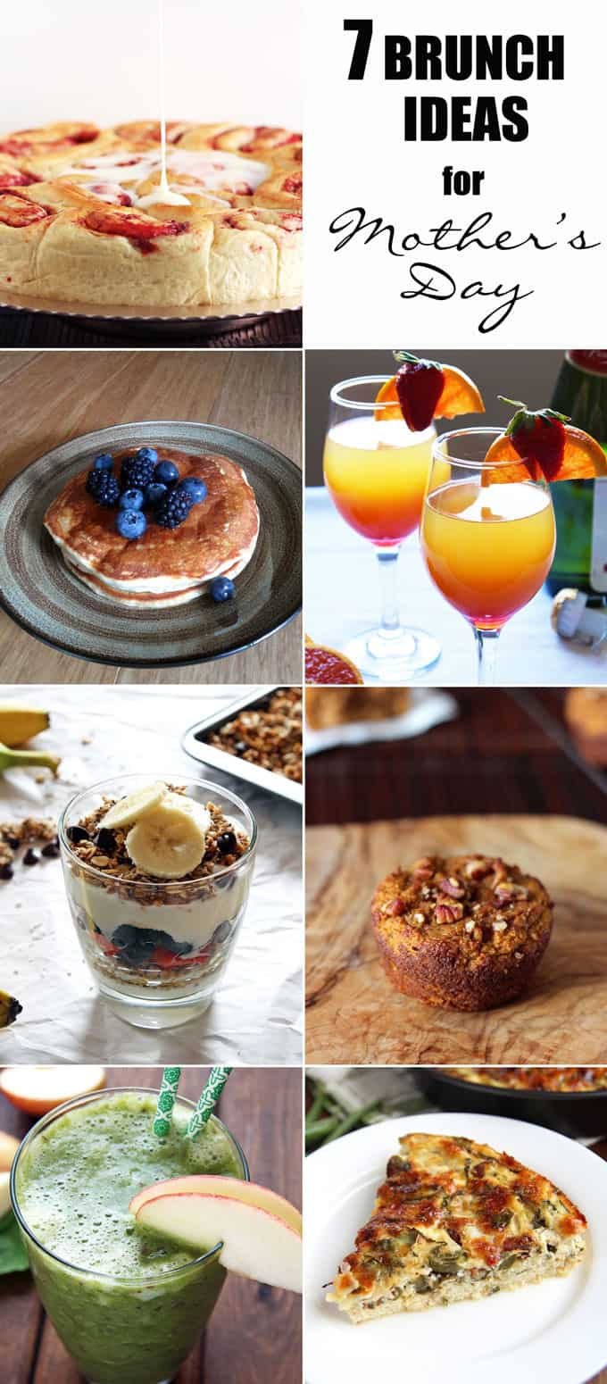 7 Brunch Ideas for Mother's Day