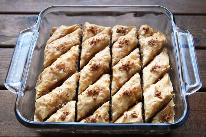 Maple Pecan Baklava
