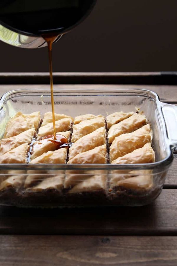 Maple Soaked Baklava
