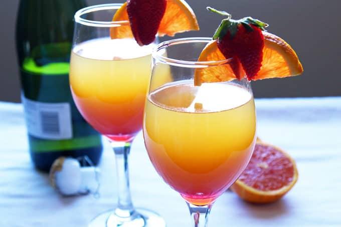 Sunrise Mimosas