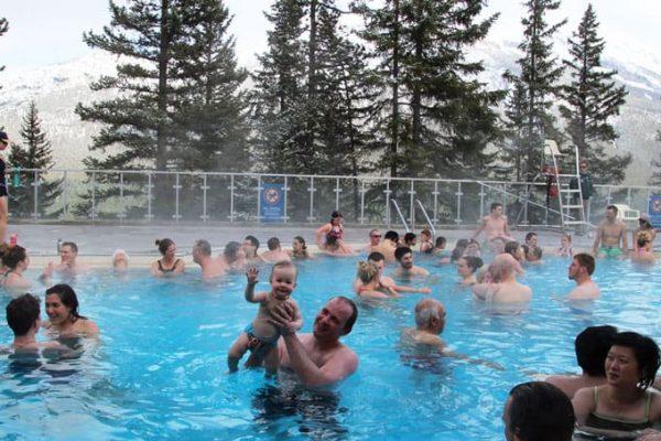 Olivia in the Hot Springs