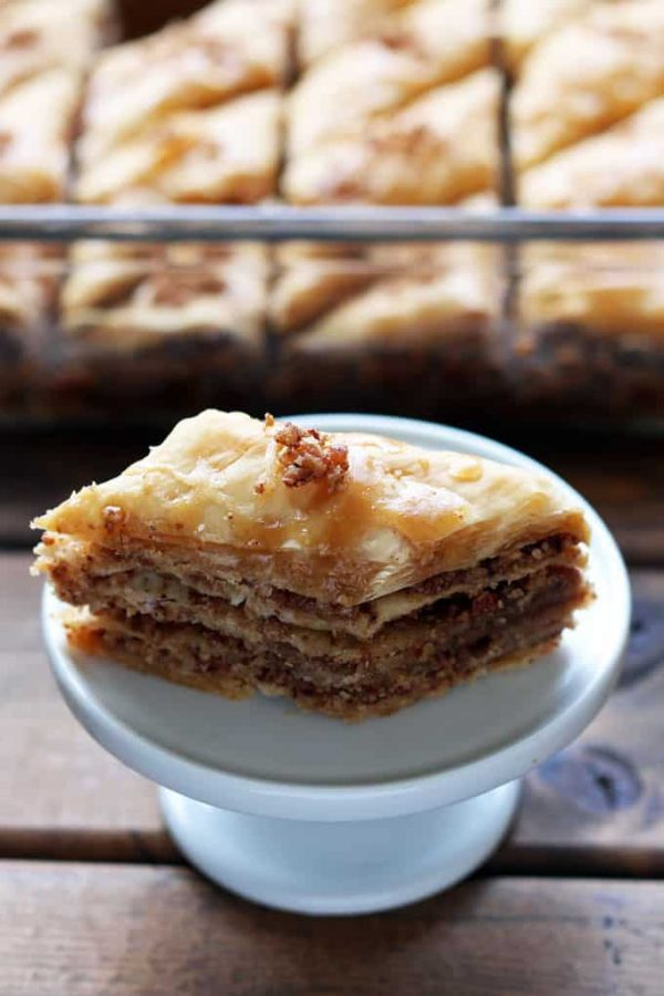 Maple Pecan Baklava Plated Up