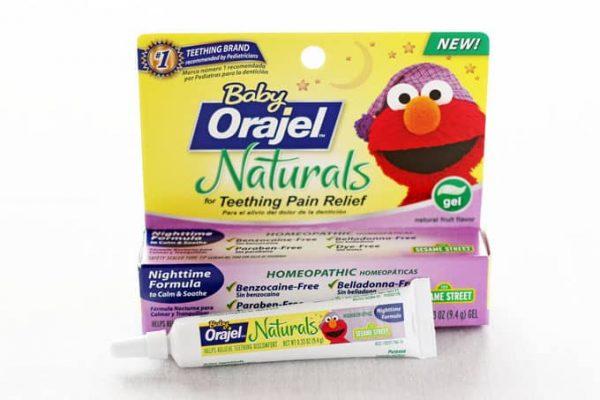 Baby Orajel Naturals Teething Gel