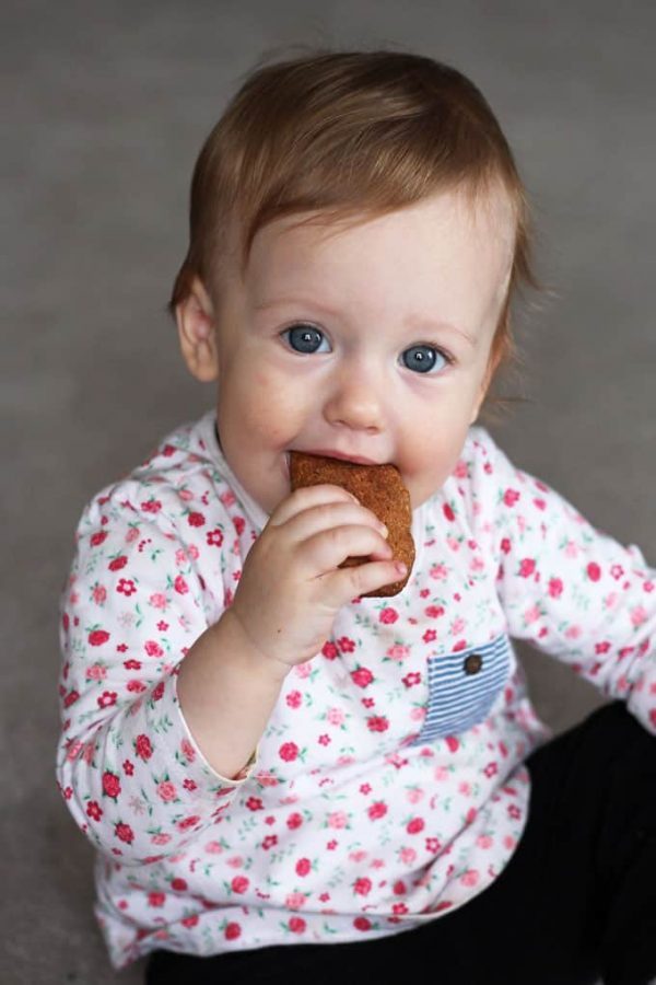 Homemade Teething Biscuits Olivia