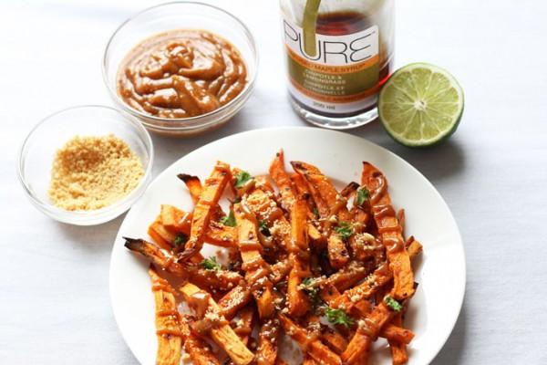 Chipotle Roasted Sweet Potatoes