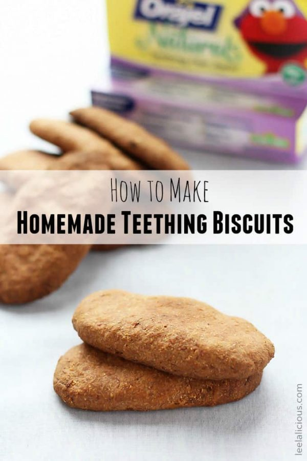 Homemade Teething Biscuits Main Photo