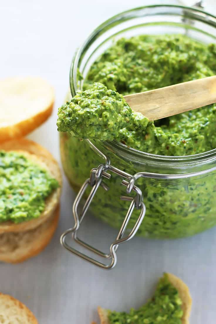 Spinach Pesto Spread