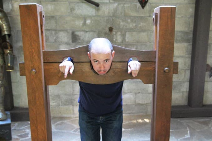Konrad in the Pillory