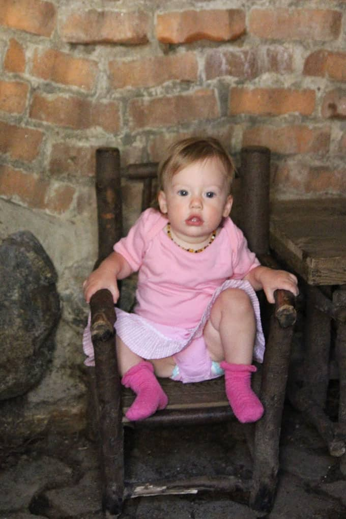 Olivia on Chair