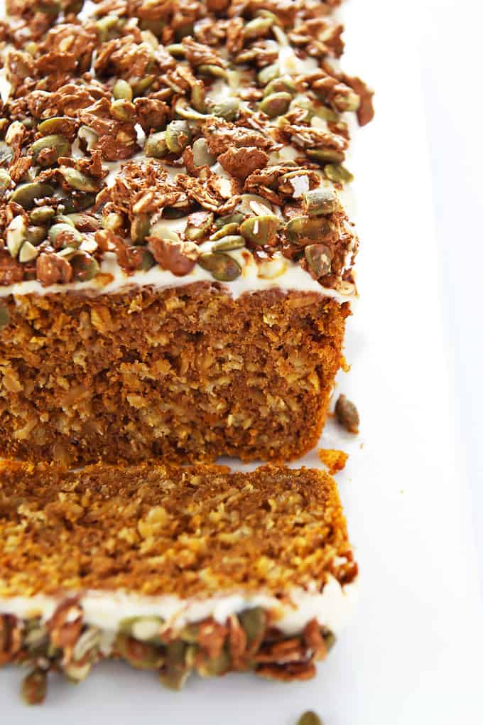 Pumpkin Loaf Cross-Section