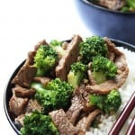 Easy Ginger Beef Broccoli Stir Fry