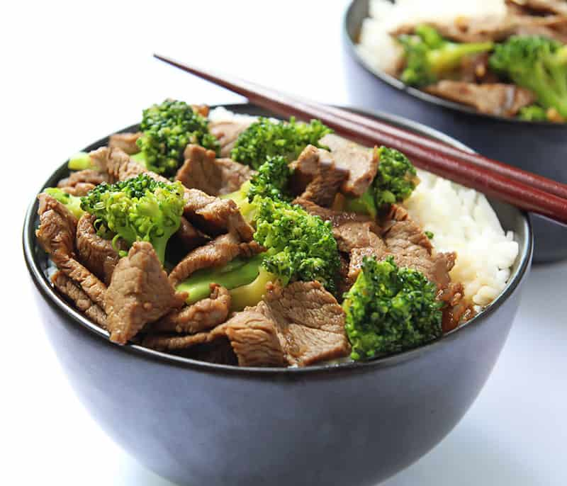 Ginger Beef and Broccoli Stir Fry