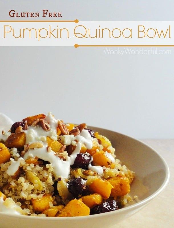 Gluten Free Pumpkin Quinoa