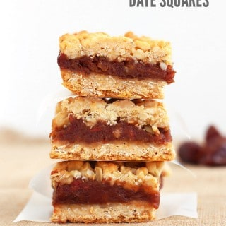 Oatmeal Date Squares