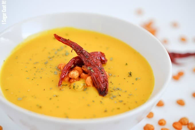 Maple Roasted Squash Blender Soup