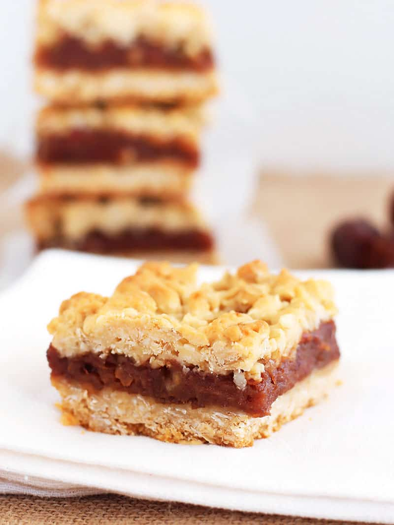 Oatmeal Date Bars Final Shot