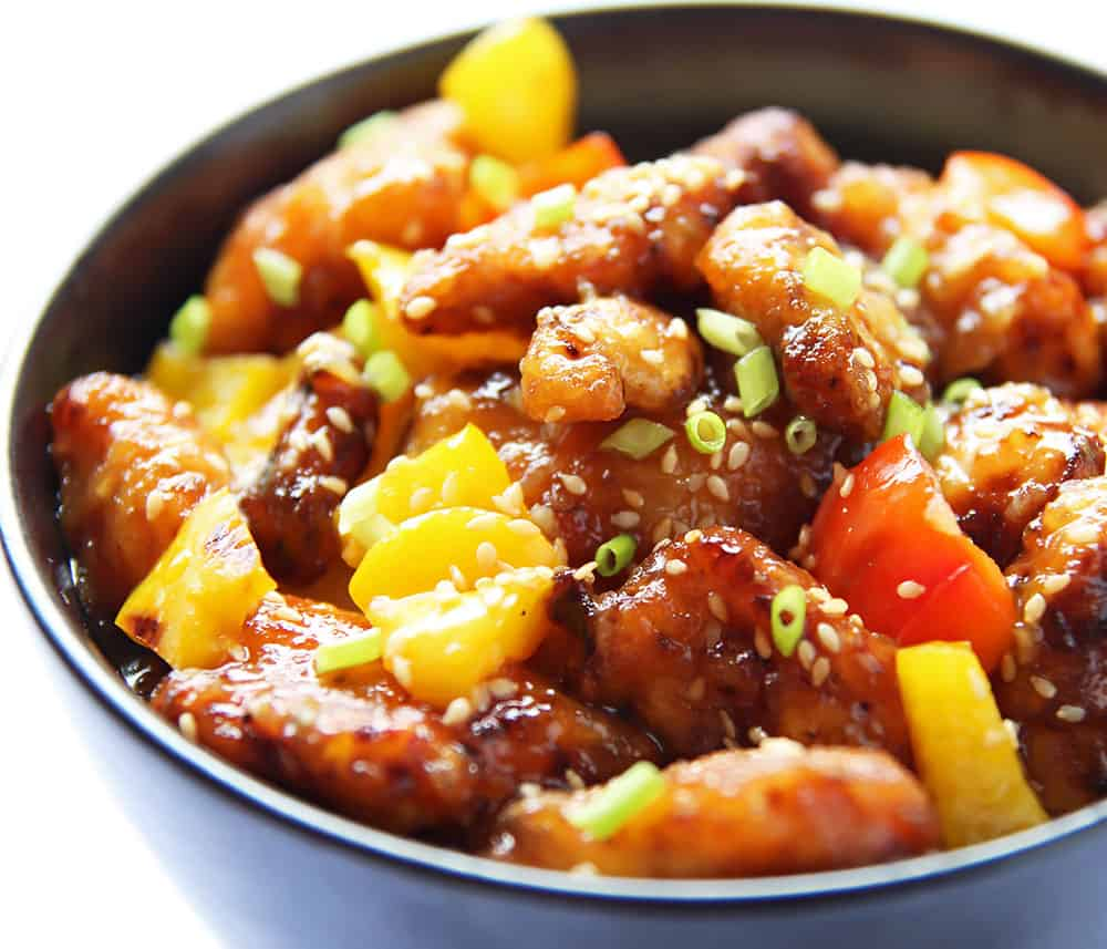 Quick Orange Chicken Stir Fry