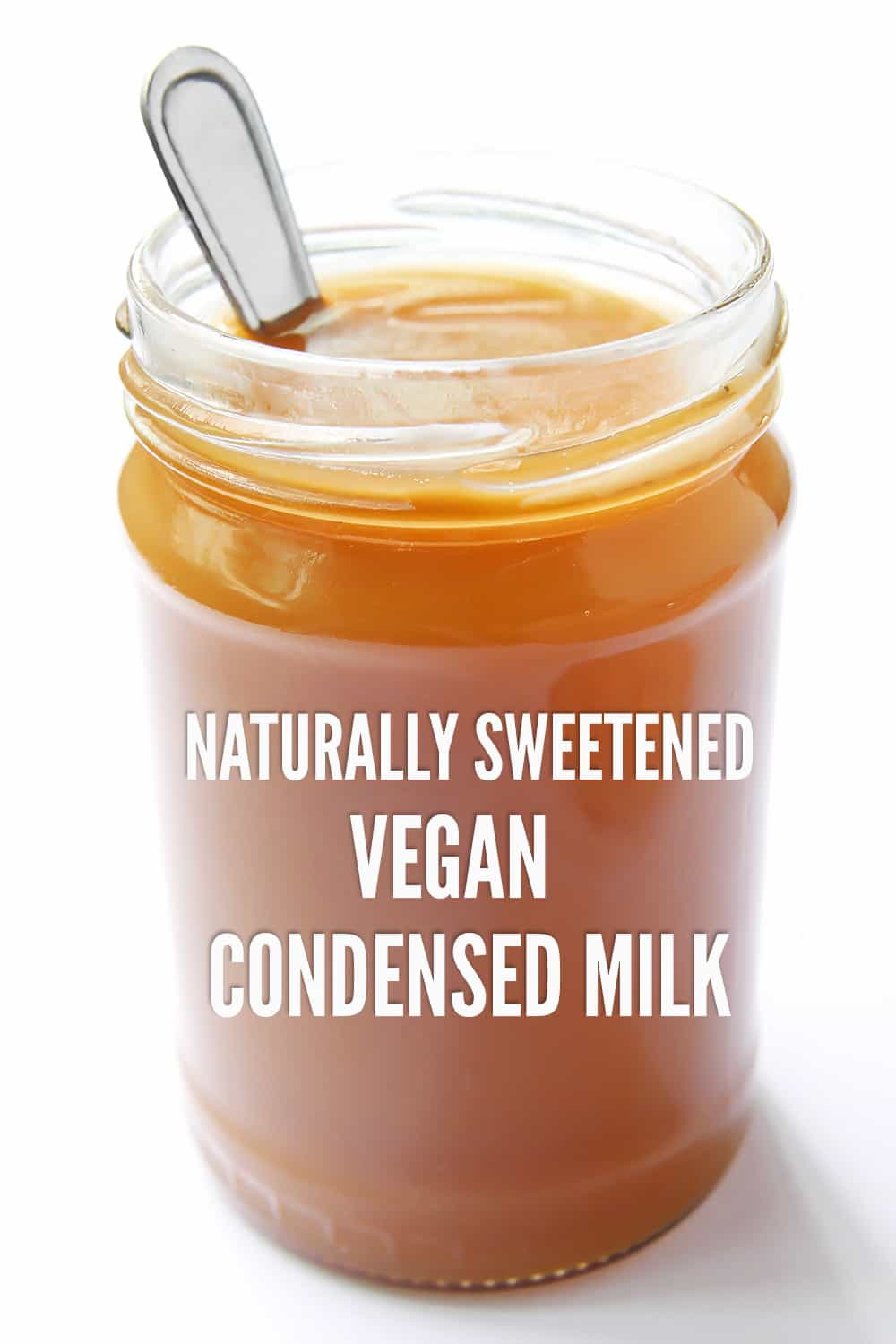 Title Photo Vegan Condensed Milk