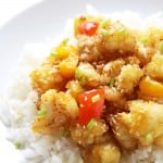 "Cauliflower Orange ""Chicken"" Stir Fry"
