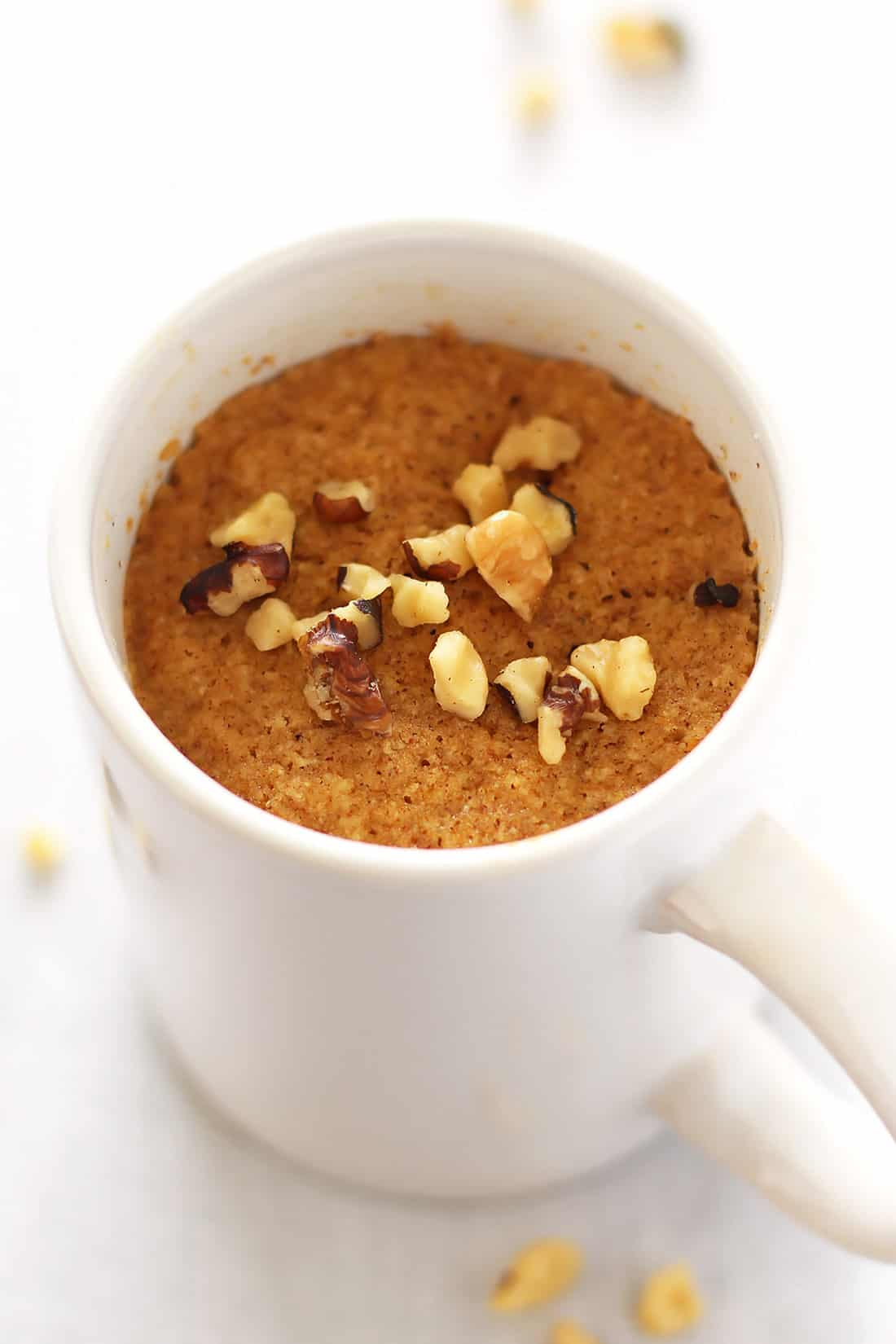 Low Carb Pumpkin Mug Cake Image