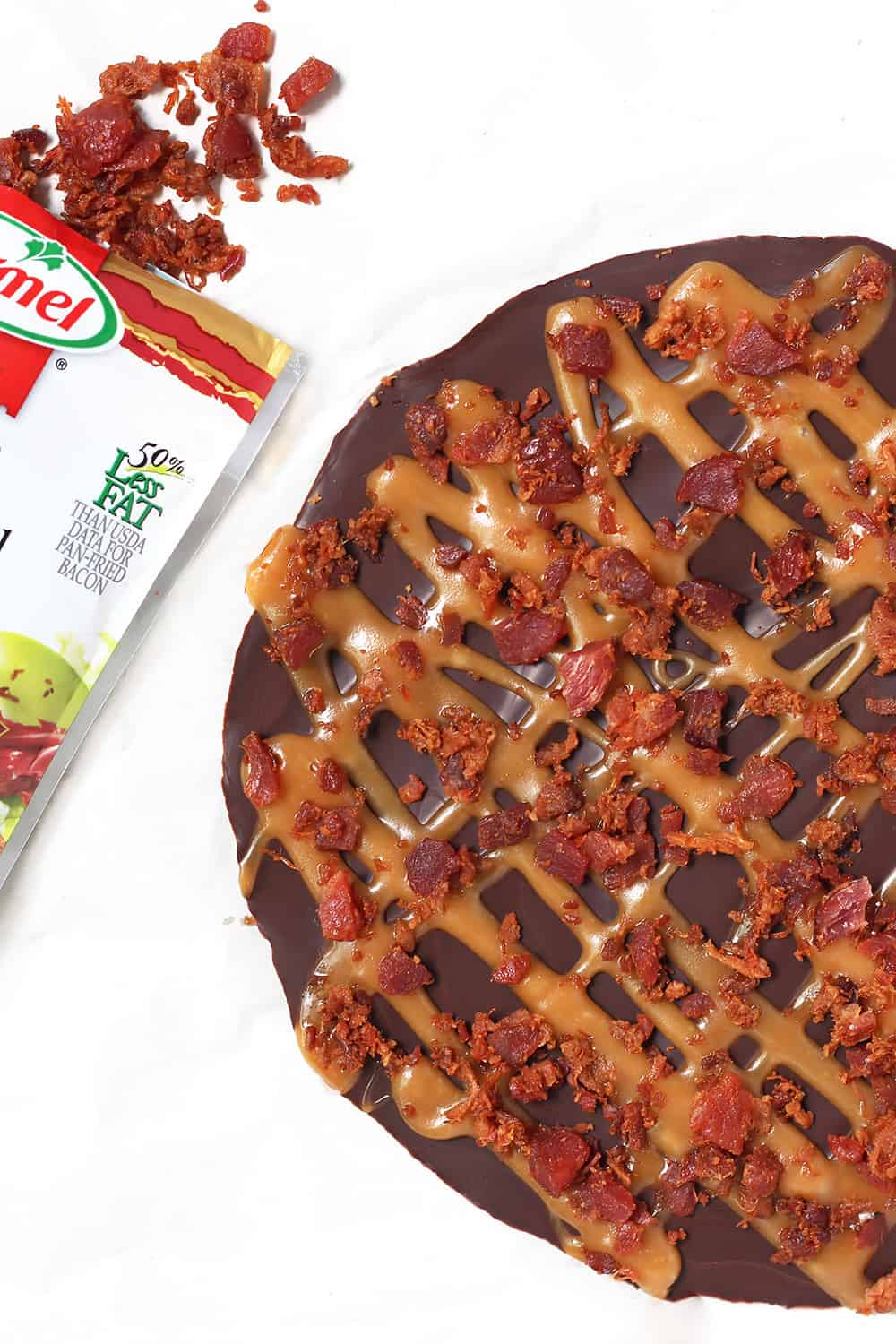 Made with Hormel bacon bits