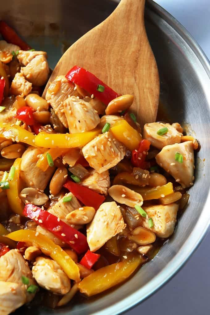 Homemade Take-Out Kung Pao Chicken